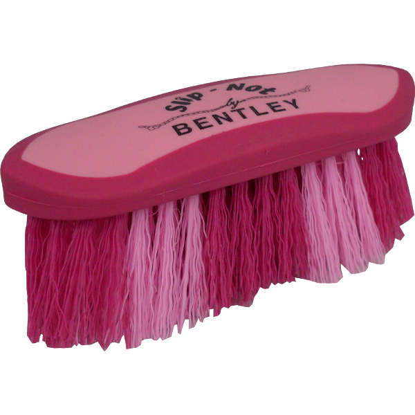 Bentley Slip Not Hoof Brush Pink At Burnhills: Bentley Slip-Not Dandy Brush