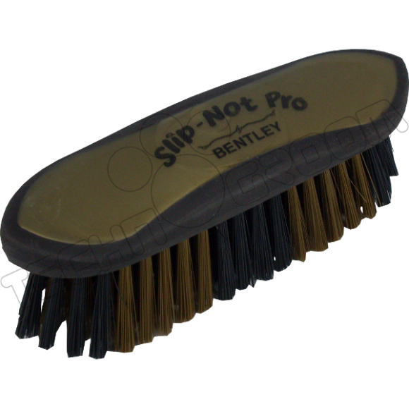 Bentley Slip Not Hoof Brush Pink At Burnhills: Bentley Slip-Not Pro Dandy Brush