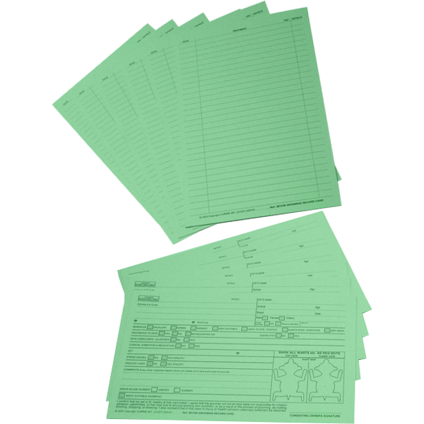 Cardex Customer Indexing System: Record Cards 100pk ...