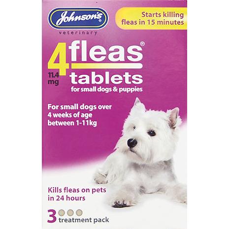 Johnsons Fleas Dog Tablets Reviews