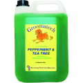 Groomatech Peppermint and Tea Tree Shampoo: 5 litres
